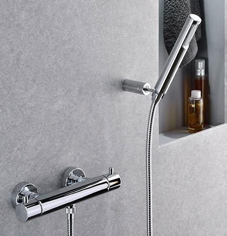 Miscelatore e gruppo esterno doccia