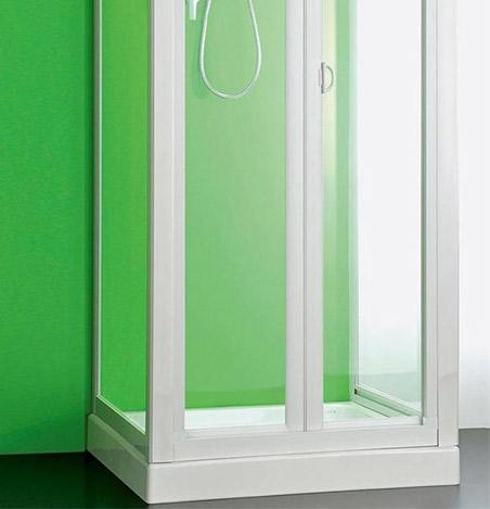 Porte doccia abbinabili a lati fissi