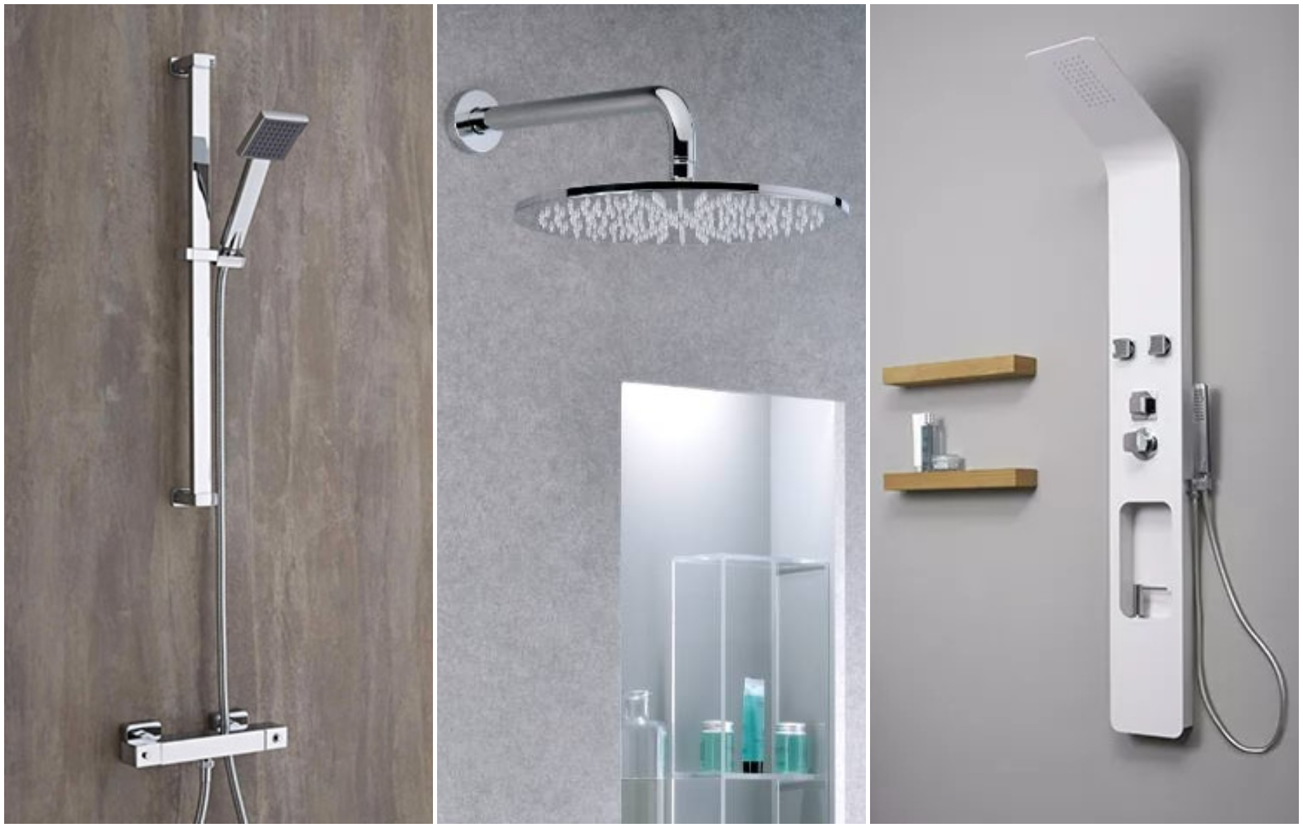 Guida all'installazione della doccia: meglio il saliscendi, il soffione o la colonna doccia?