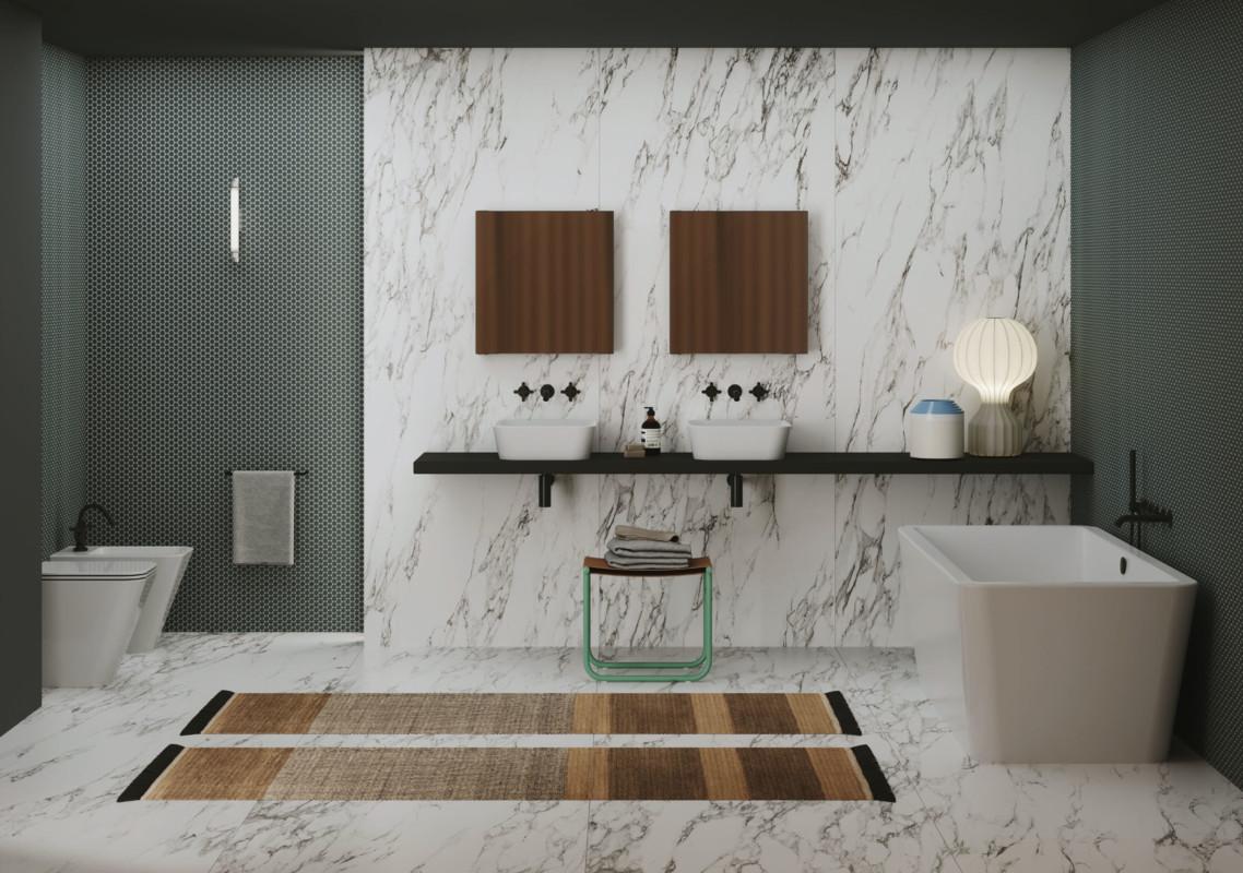 Arredare il bagno nel 2021: tendenze di interior design